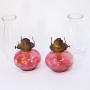 cranberry glass oil lamps 2 cropped