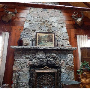 The hearth and heart of our home.