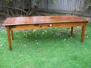 land and ross table