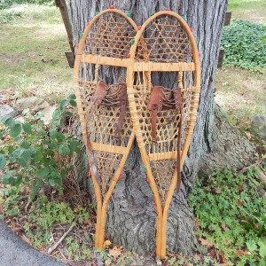 Cree snowshoes cropped