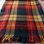 plaid wool throw 3